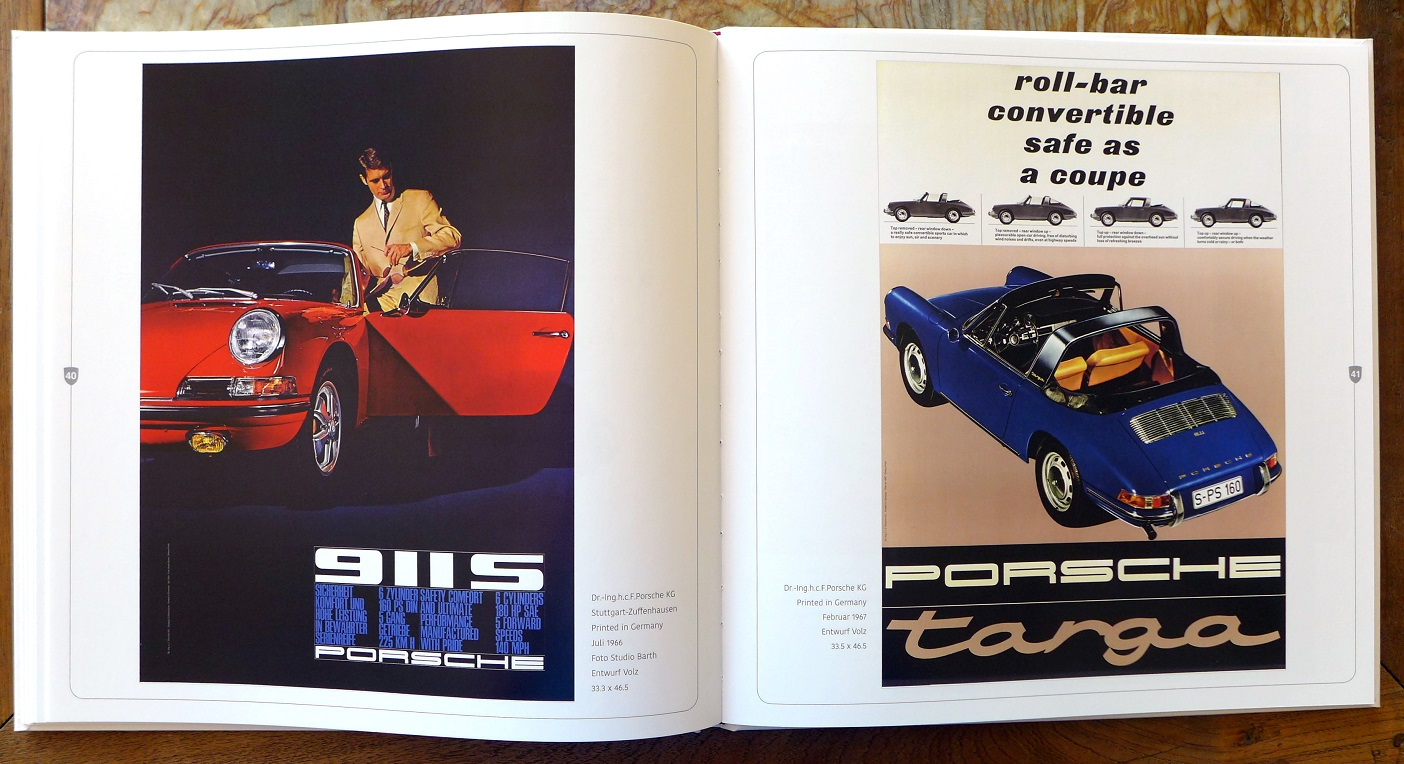 Porsche Showroom Posters ~ The First 25 Years book