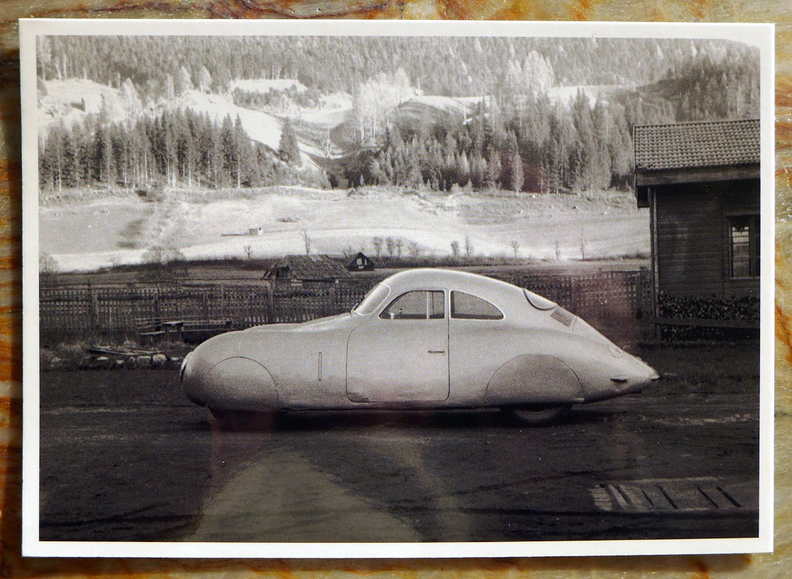 Type 64 in Gmund Museum post card
