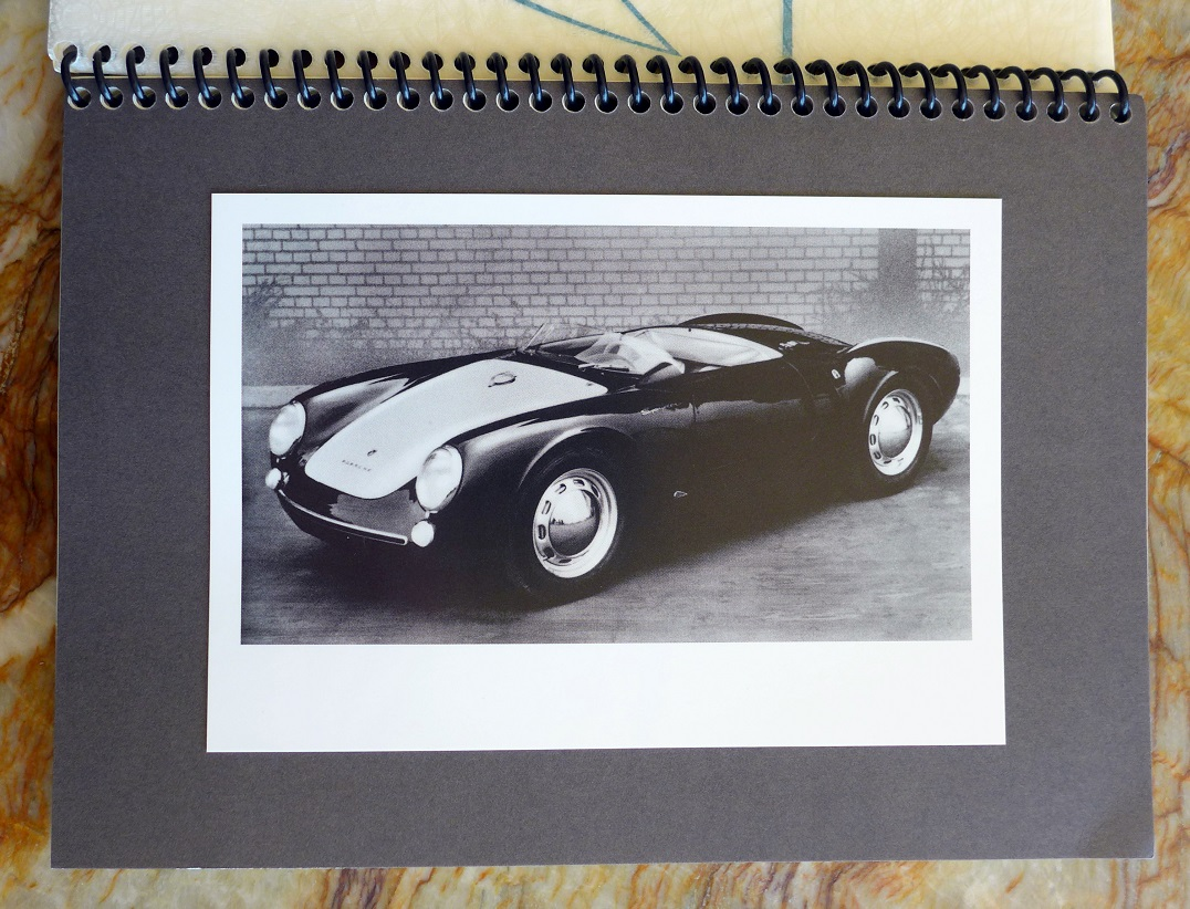 Porsche 550 Spyder owners manual English reproduction