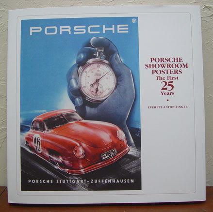 Porsche Showroom Posters original vintage advertising posters book