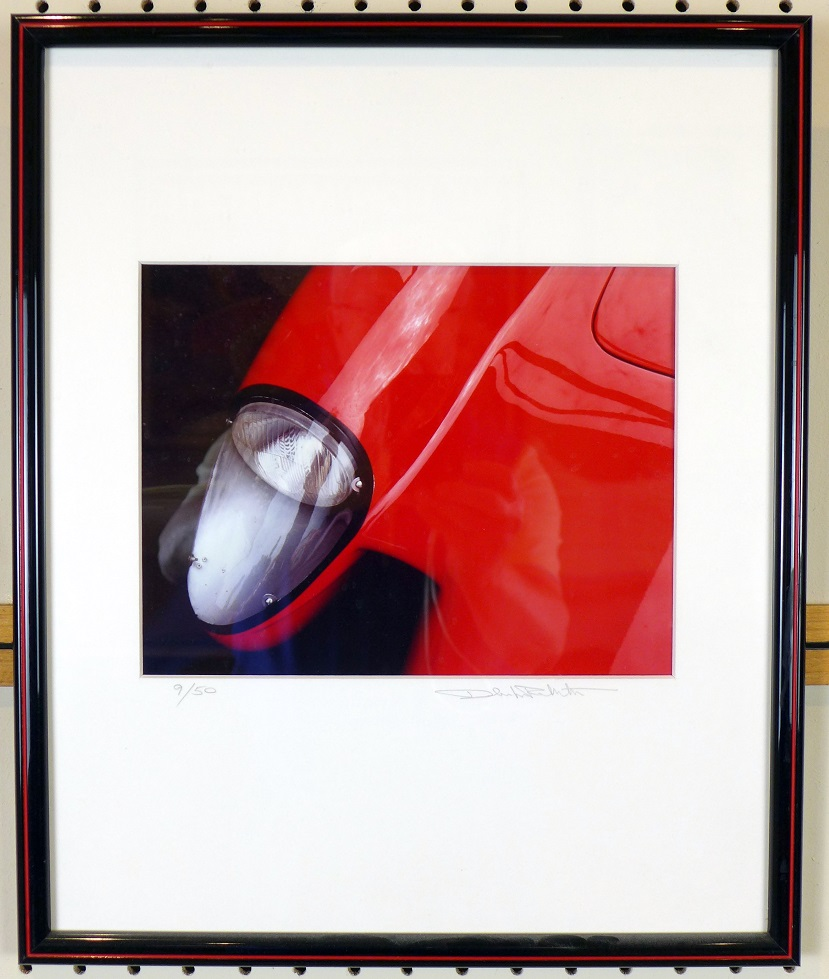 Testa Rossa Ferrari original cibachrome photo by Dale LaFollette