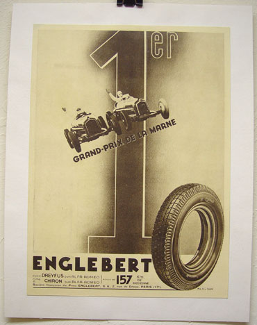 Englebert tires GP Marne ad