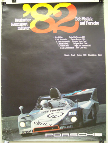 German Championship 1982, Porsche Factory racing poster
