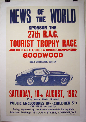 1962 Tourist Trophy - Wanted