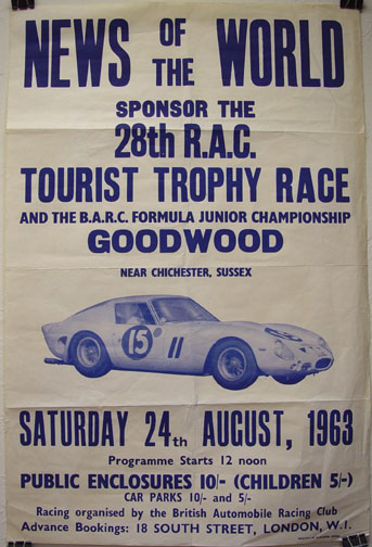 Tourist Trophy 1963 - Wanted