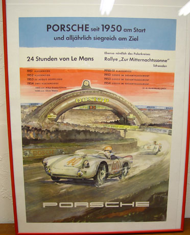 Porsche LeMans probably 1954