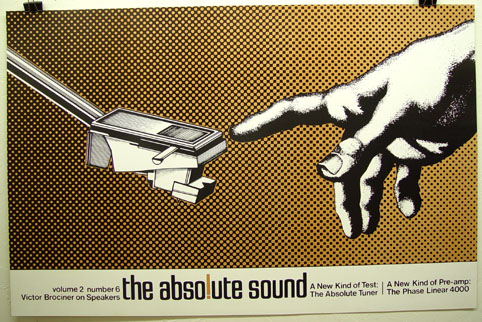 The Absolute Sound, Vol 2 #6; art by Gary Viskupic