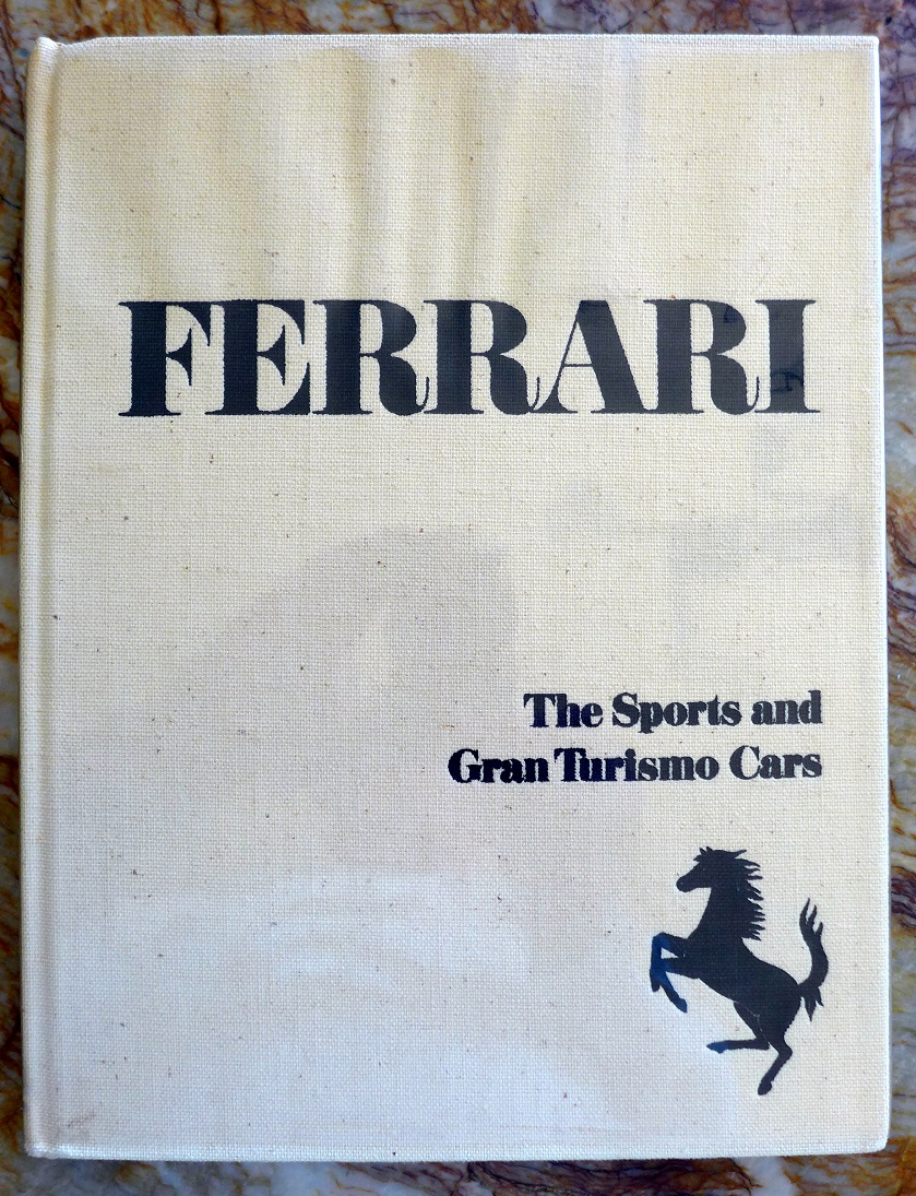 Ferrari book by Fitzgerals & Merritt original vintage first edition 1968