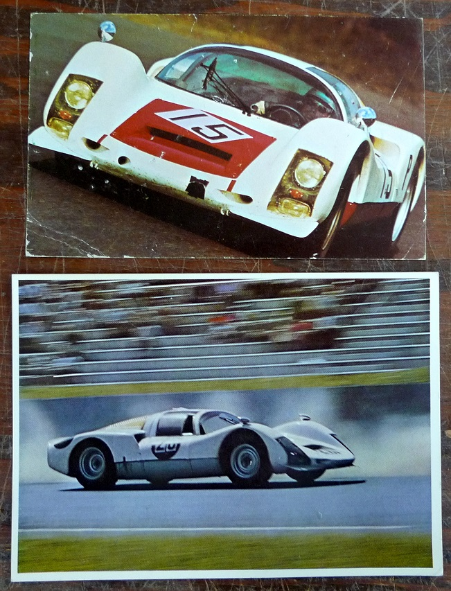 Porsche Factory Carrera 6 906 post cards