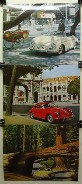 Porsche 356 photo prints by Hinze Speedster, Sunroof Coupe, Cabriolet