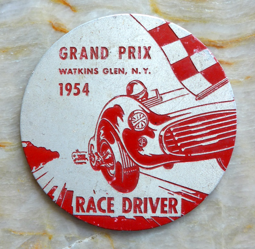 1954 Watkins Glen Grand Prix placque