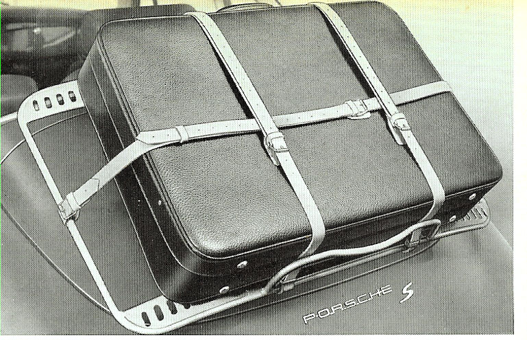 exterior luggage rack straps