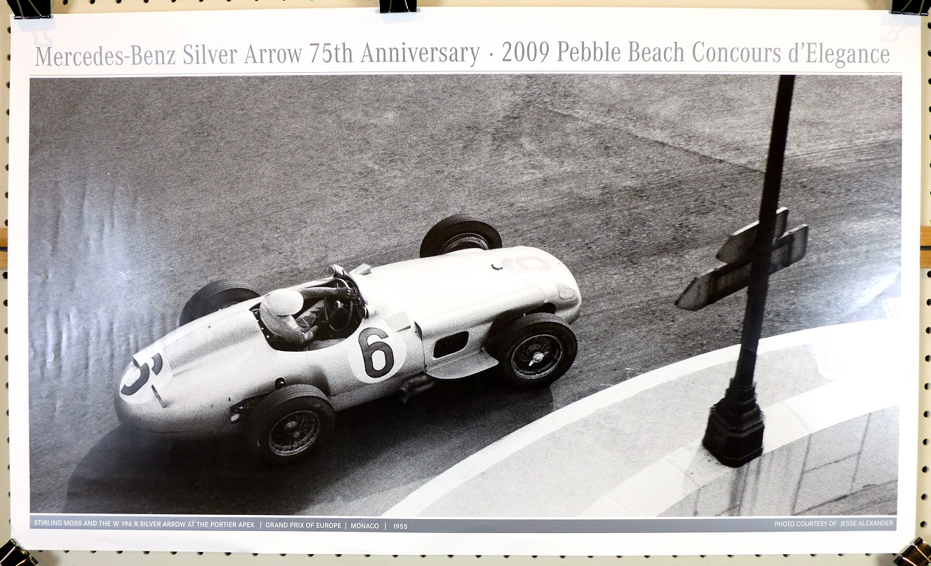 Mercedes Benz Silver Arrows 75th Anniversary Stirling Moss W 196 R at G P Europe Monaco Jesse Alexander photo