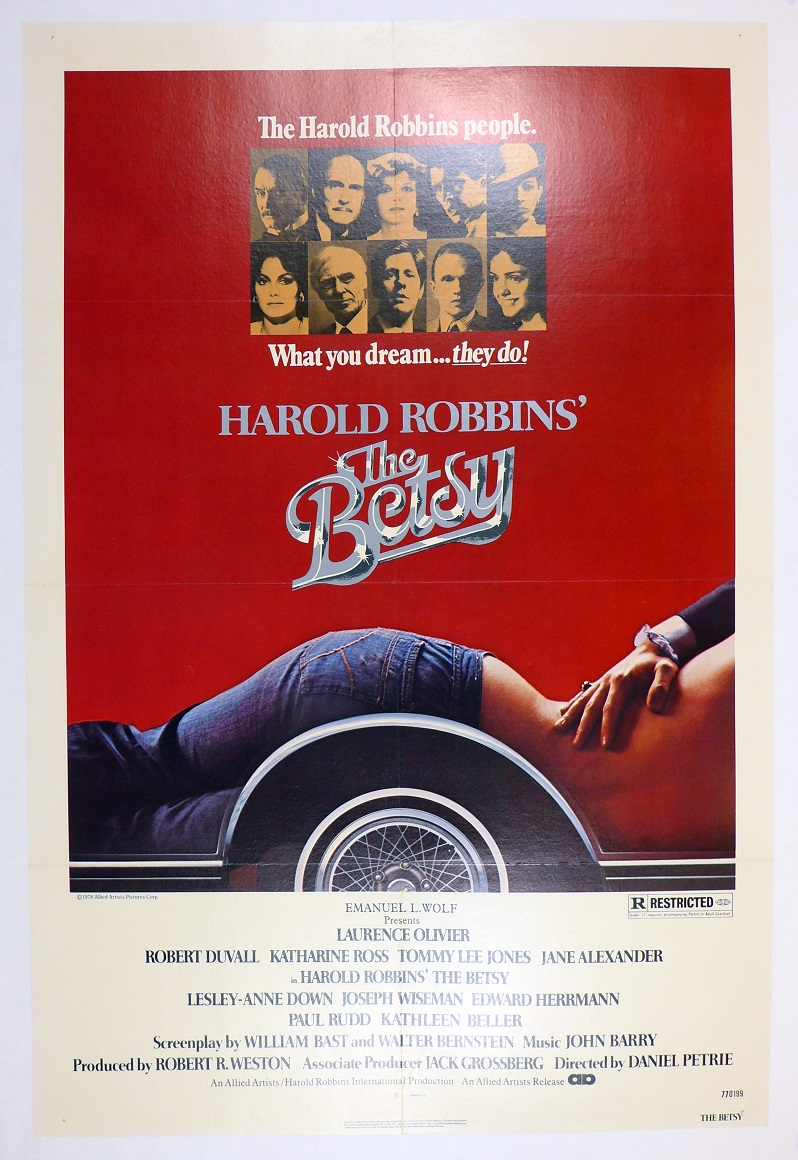The Betsy original vintage auto movie poster