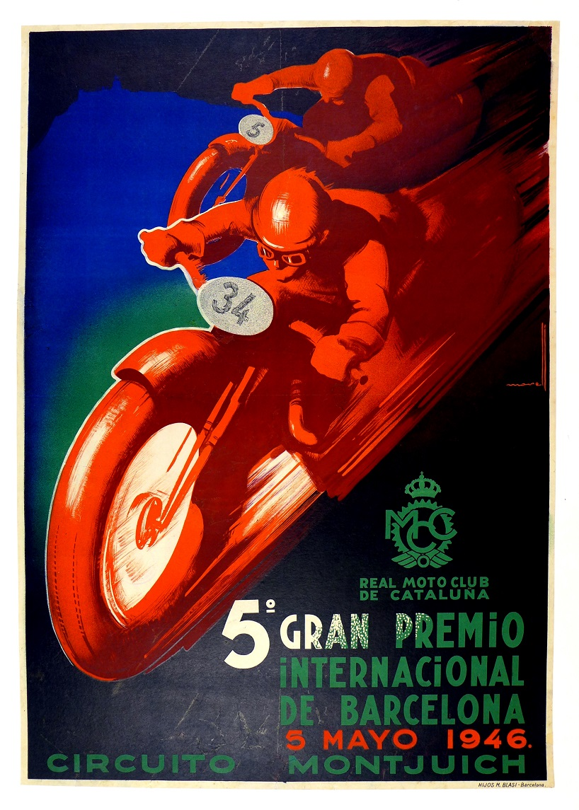 5th Grand Prix International of Barcelona, 1946