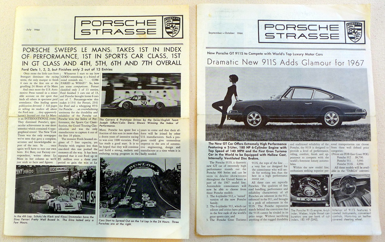 Porsche Strasse internal publication from POA