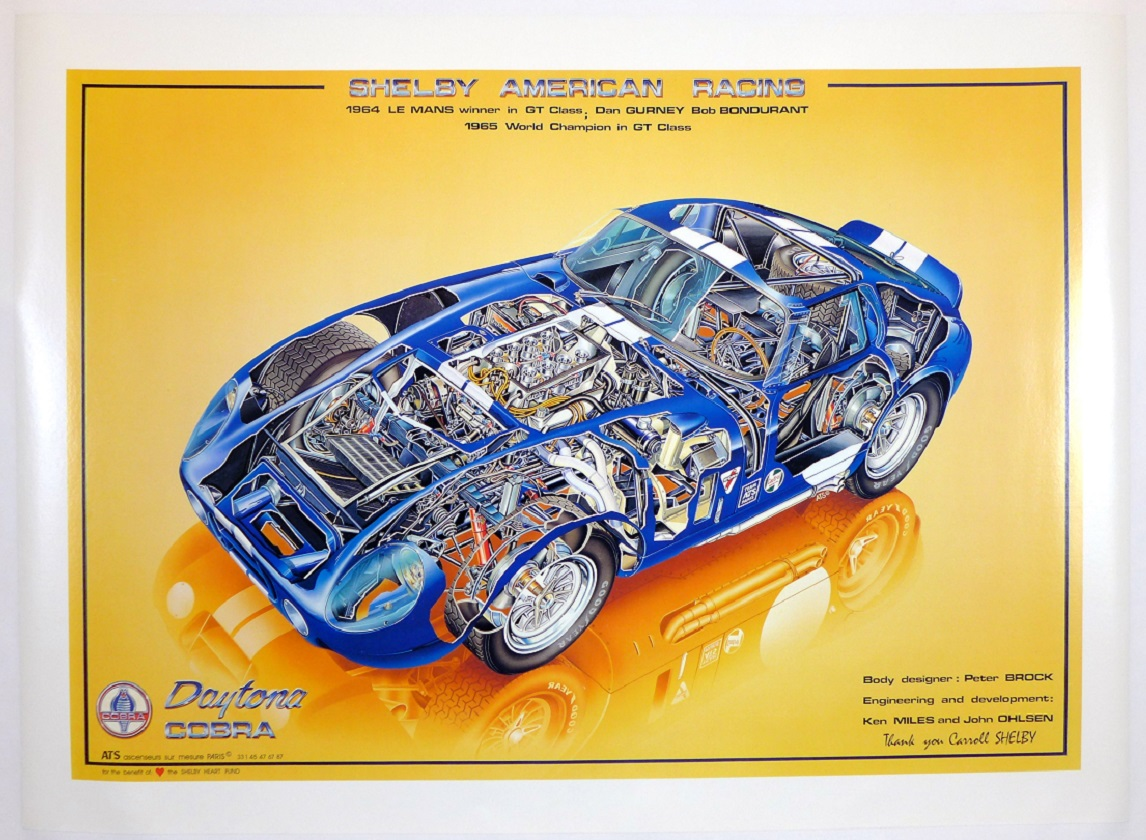 Shelby Daytona Coupe original poster