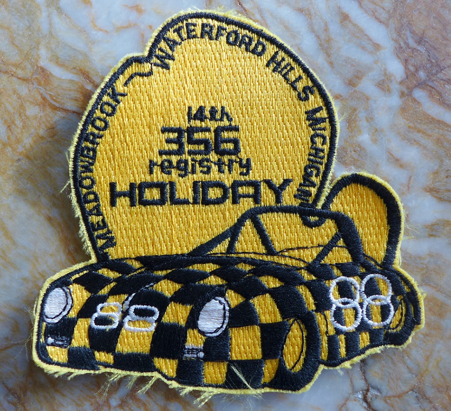 1988 356 Registry Holiday patch