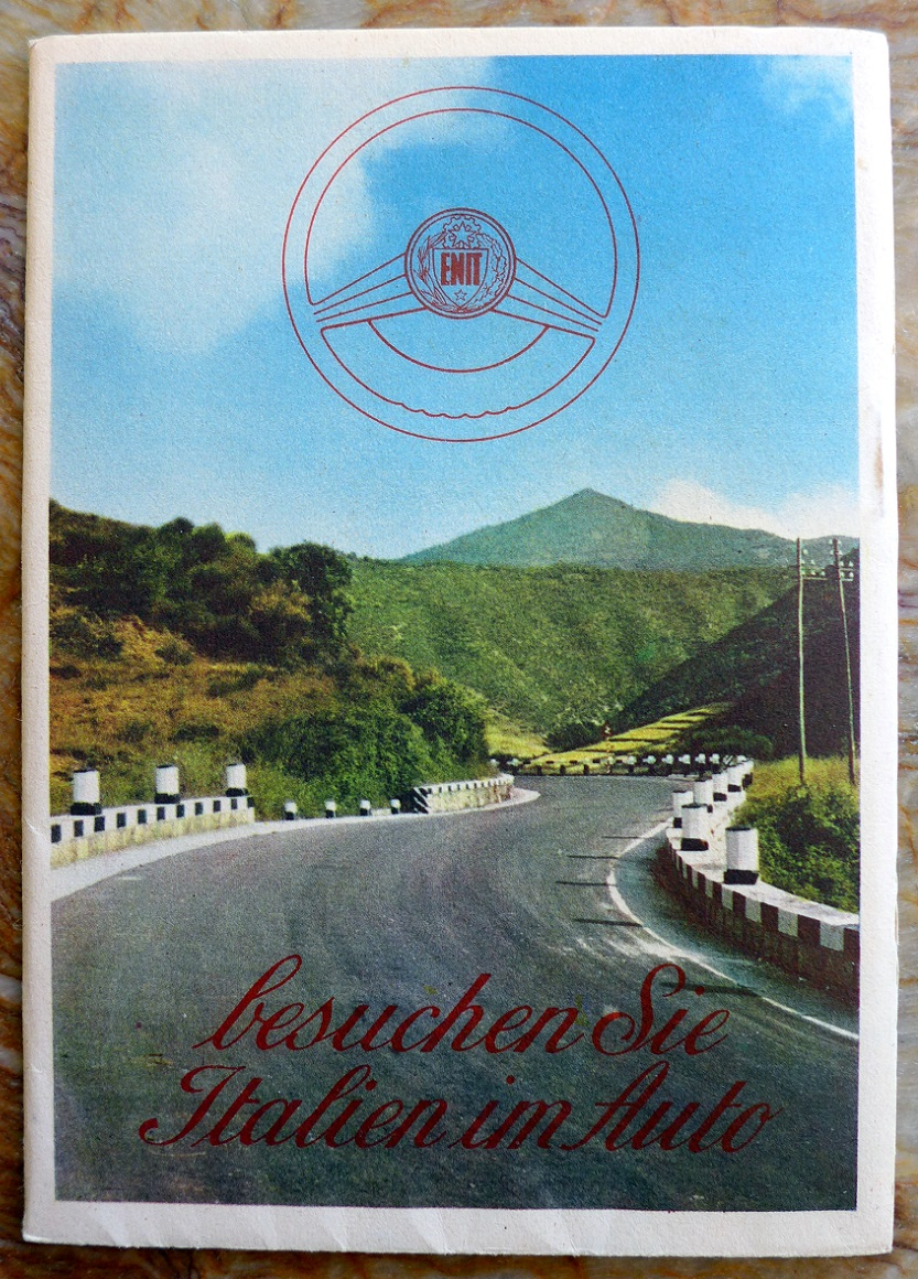 Italy touring guide original vintage