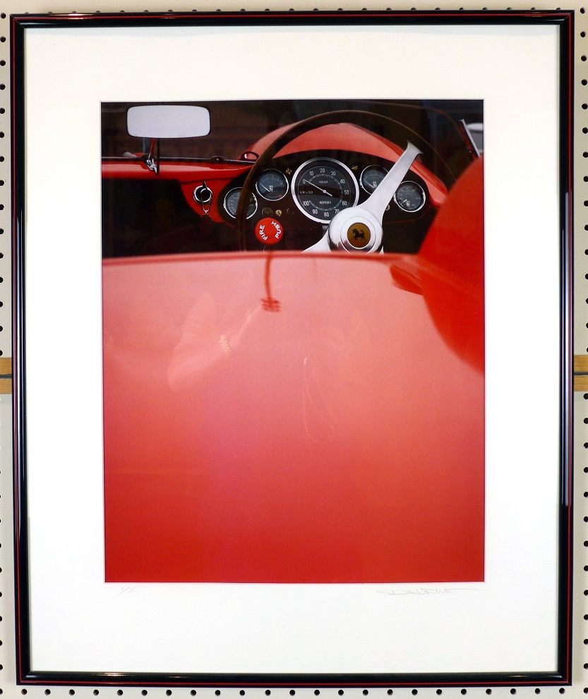 Fire Push Ferrari original cibachrome photo by Dale LaFollette