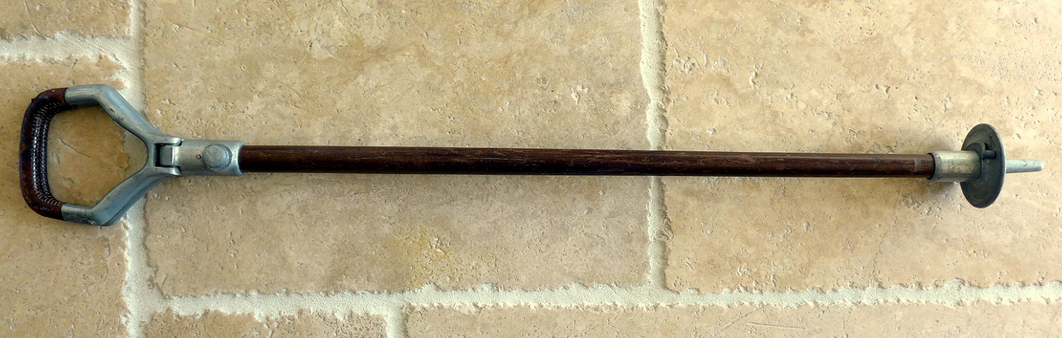 English walking stick original vintage