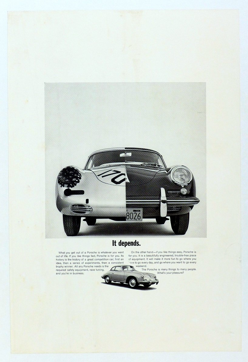 It Depends Porsche of America 356 B Notchback Coupe