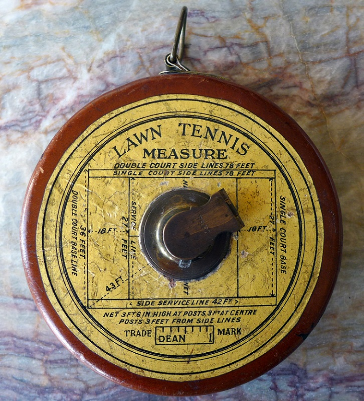 Lawn Tennis Measure original vintage
