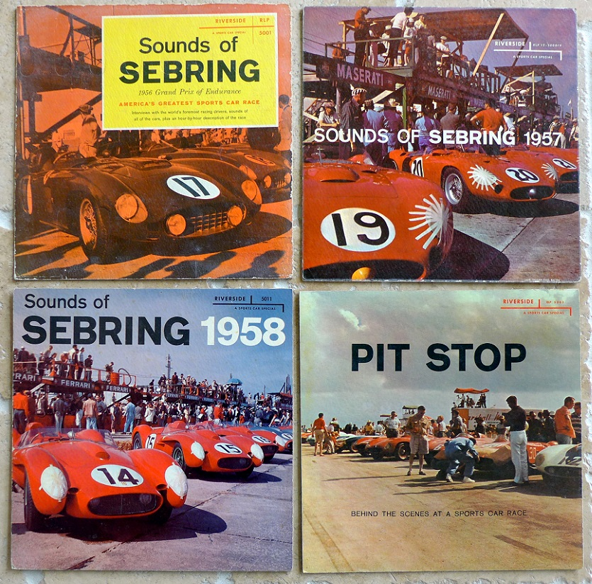 Sounds of Sebring & Pit Stop original vintage 1950's store display