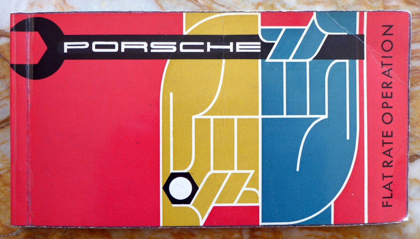 Porsche Flat Rate Operation manual
