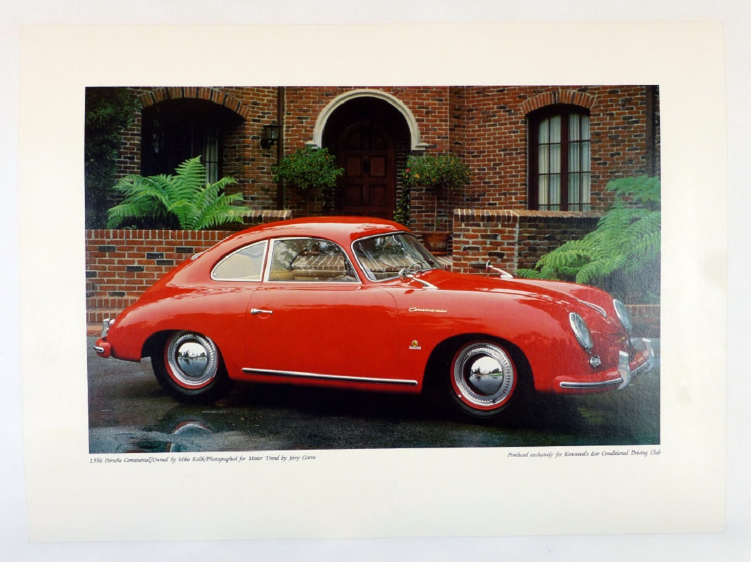 1956 Porsche 356 A Continental Coupe Kenwood