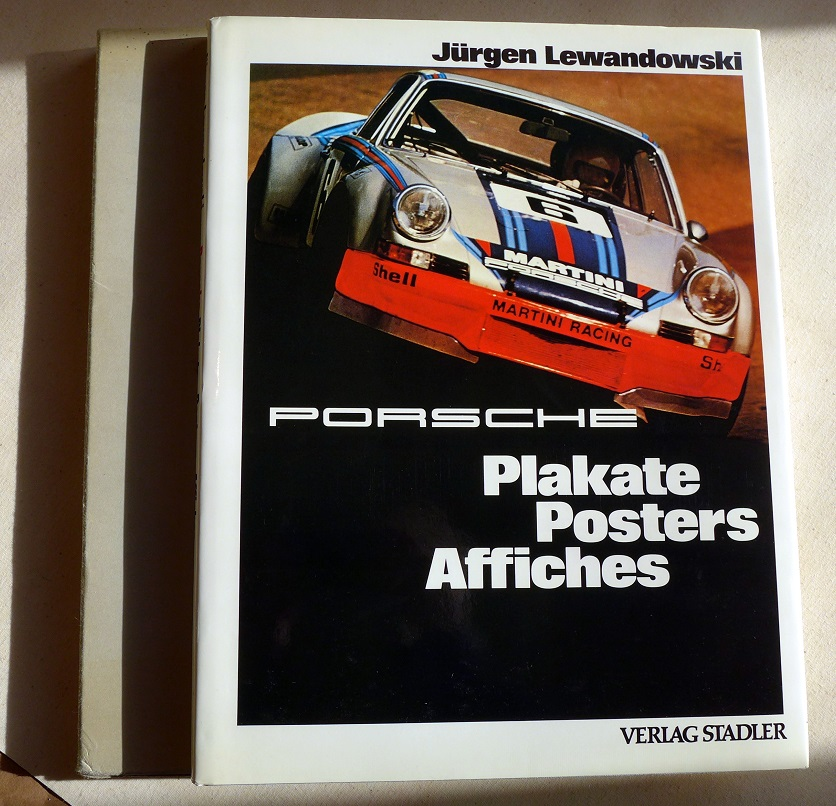Porsche Posters original vintage racing book Lewandowski