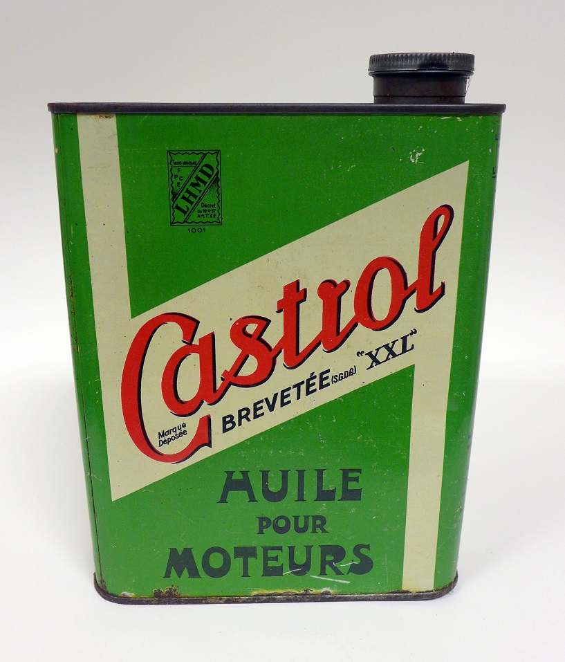 Castrol original vintage oil can