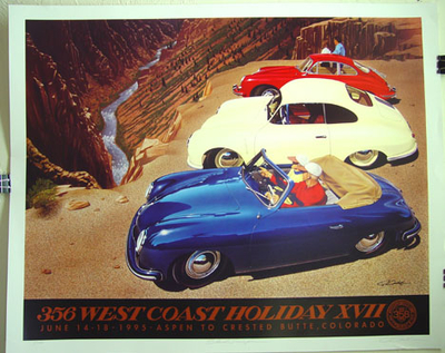 West Coast Holiday 1995 signed print
