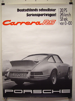 Carrera RS poster - Wanted