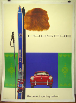 Porsche 356 B with Skis - Wanted