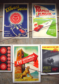 Mille Miglia event posters