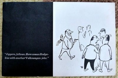 VW cartoon joke book by Partch