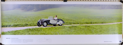 BMW 319/1 Factory mobile tradition heritage poster