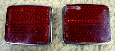 Ferrari original rear reflectors
