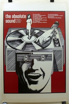 The Absolute Sound, Vol 1 #3, Fall 1973; art by Gary Viskupic