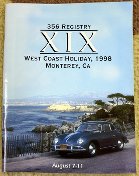 1998 West Coast 356 Holiday event program