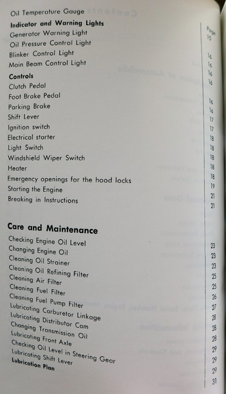 Porsche Speedster Owner's Manual Supplement reprint