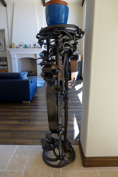 Albert Paley plant stand 1988