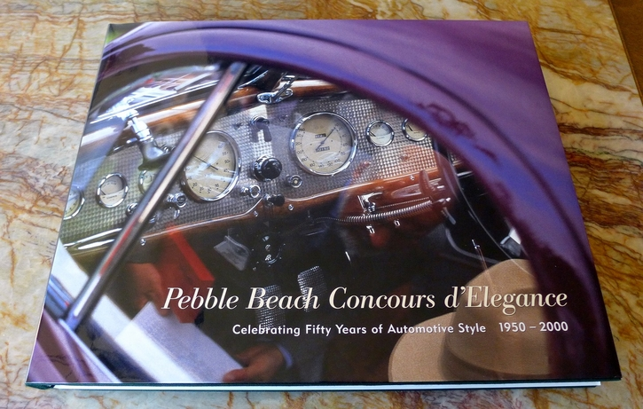 Pebble Beach Concours d'Elegance limited edition book
