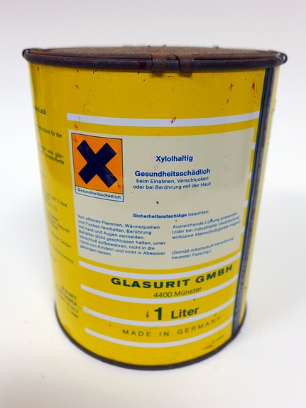 Glasurit Autolack original vintage paint can