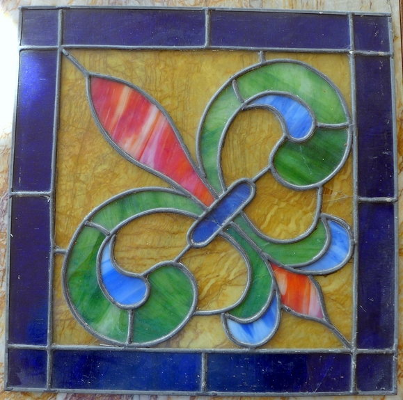 stained glass panels
