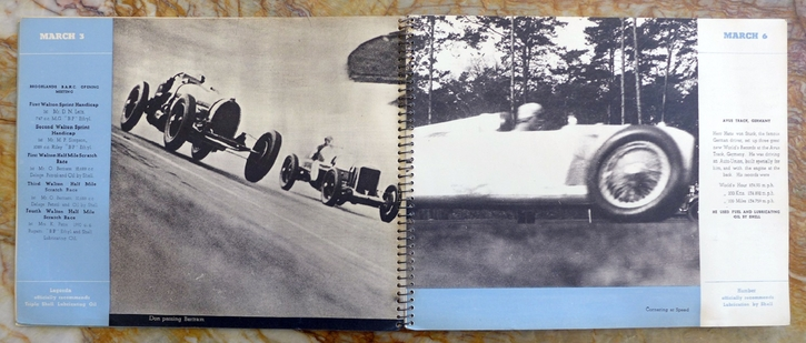 Performance is Proof 1934 Shell Oil original vintage racing commemorative book