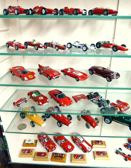 Ferrari scale model collection
