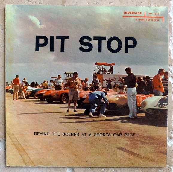 Sounds of Sebring & Pit Stop 1950's original vintage store display