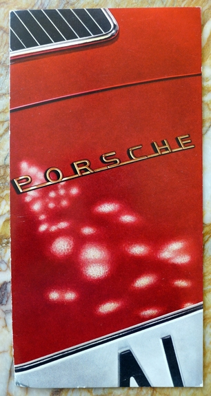 Porsche Factory holiday New Year greeting card 1961
